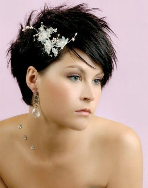 15 Spaß Hochzeit Frisuren für Bräute mit kurzen Haaren