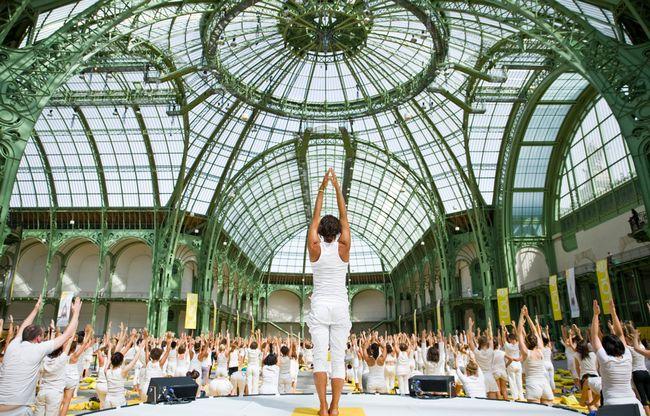 7 inspirierende Yoga Mega-Events weltweit