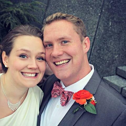 Ein Geist photobombs Paar Hochzeitsfotografie!