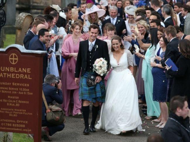 Andy Murray und Kim Sears Ehe