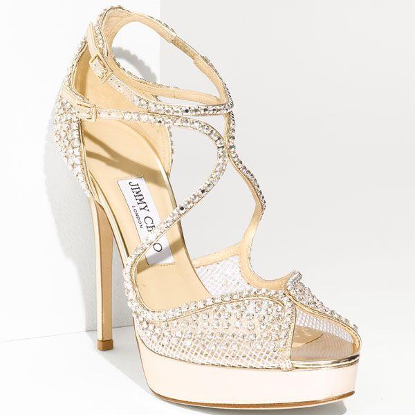 Bejeweled Schuhe