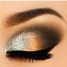 smokey Augen Make-up