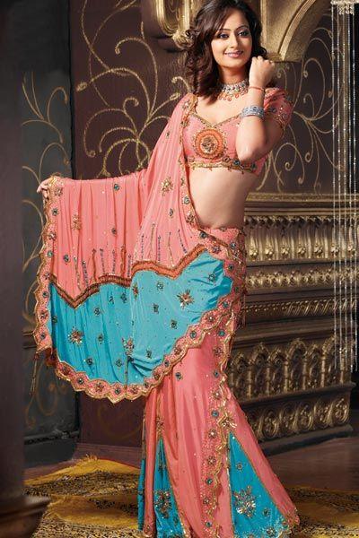 Last-exklusive Lehenga-saree-Indian-Saree-Designs-Braut-Saree-Ehe-Saris-Collection-2013-014