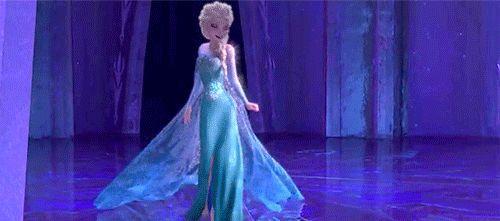 Elsa das Brautkleid inspiriert Disney in den Läden durch das nächste Jahr eingefroren!