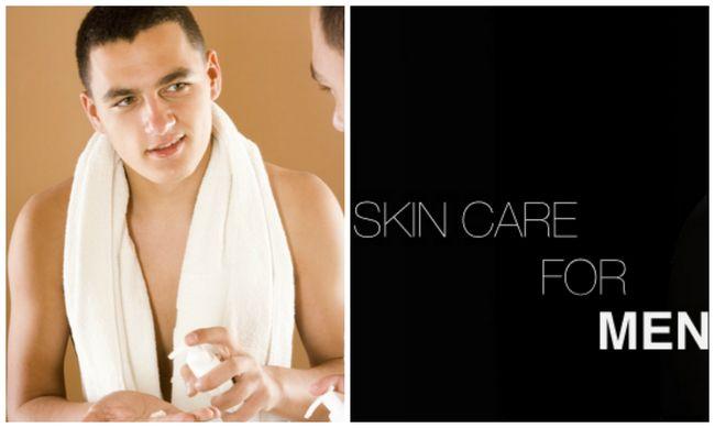 Pflegetipps für wesentliche Haut für Männer