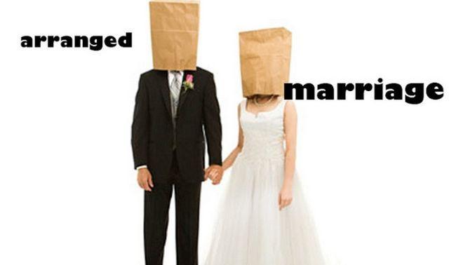 arrangierte Ehe