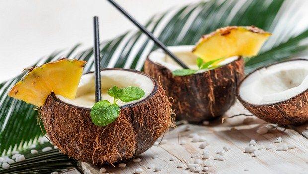 wie Cocktails, Pina Colada zu machen
