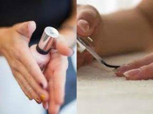 Wie um zu verhindern Nagellack Abplatzungen