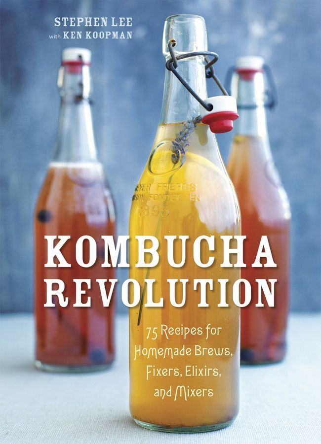 Stephen Lee Revolution Kombucha Rezepte