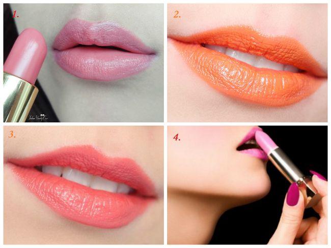 Shades für Lippen für einen mädchenhaften Look