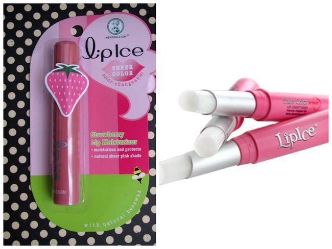 Lipice reinen Balsam Erdbeere Lippenfarbe