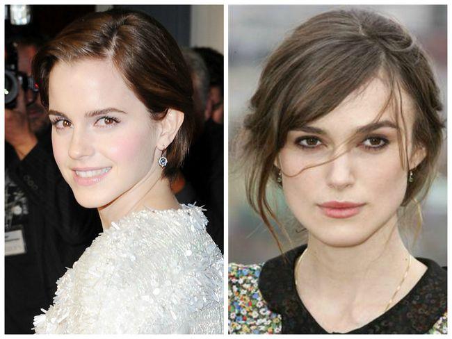 Schauen Sie natürlich glamourösen Make-up mit English Rose