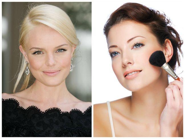 Make-up für einen natürlichen Look