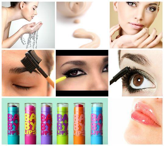 Make-up für College-Mädchen