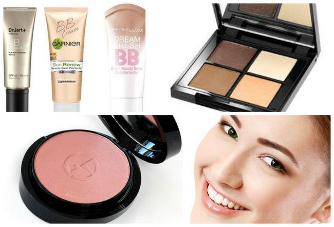Make-up für einen täglichen Blick