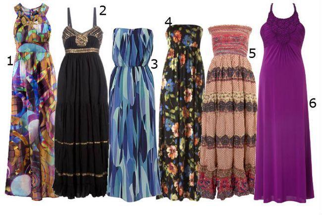 Maxi Kleid - ein kühler Sommermode