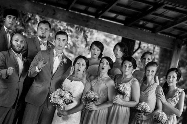 Mississippi Fotograf eingefangen epische Hochzeitsfoto, als er fiel!