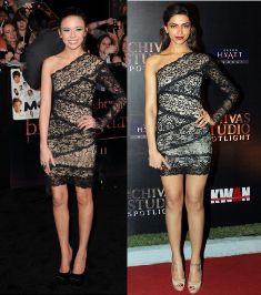 Die beliebtesten Outfit Kopien von Deepika Padukone Hollywood