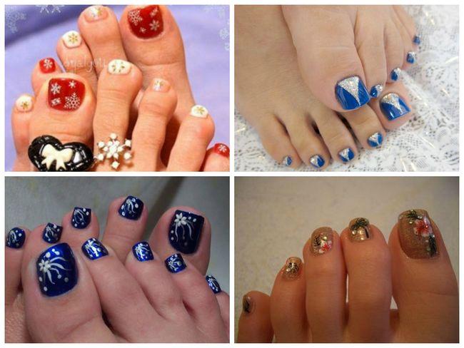 Nail Art für Ihre Füße