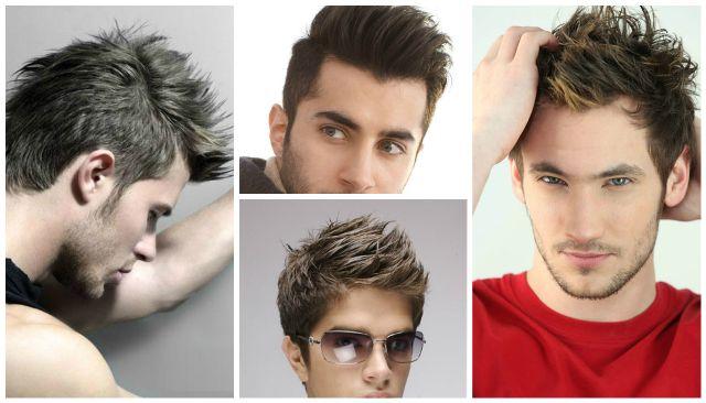 beliebte Frisuren für Jungen College
