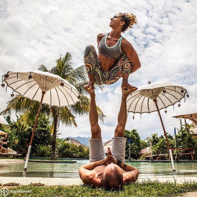 Top 5 Yoga Partner Fotos auf Instagram in dieser Woche