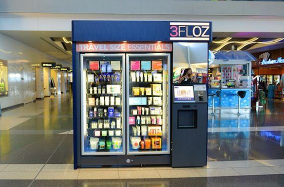 Jetzt können Sie Schönheit Saftprodukte finden in'aéroport. (Photo: spartertravel.com)