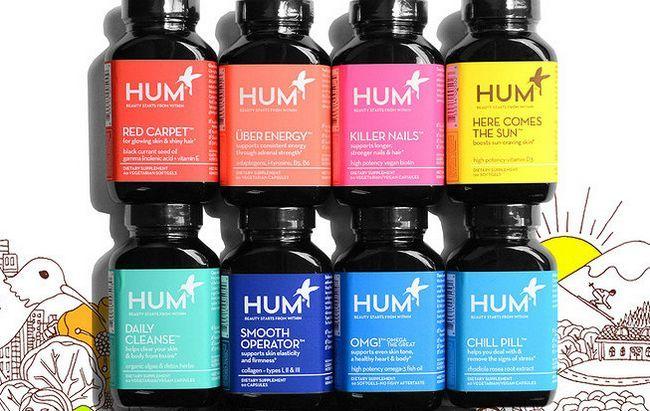 Die Schönheit Unternehmen, produziert Produkte, die Sie schlucken