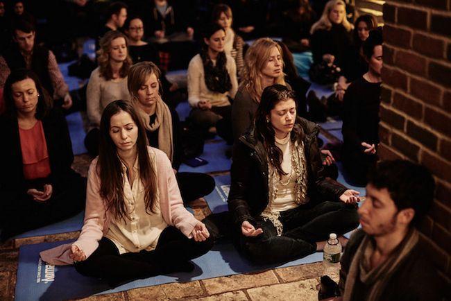 Die Erzeugung von Meditation