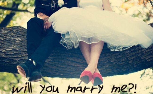 Die Welt scheint virale Ehe Vorschläge zu treffen, statt Liebe