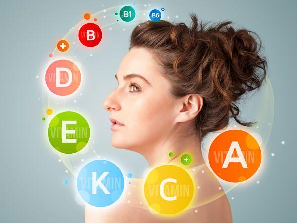Top 7 Vitamine für gesunde Haut - sollte die Hautpflege-Tipps kennen