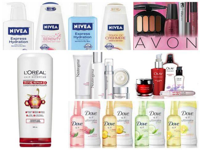 Top Kosmetik-Marken in der Welt