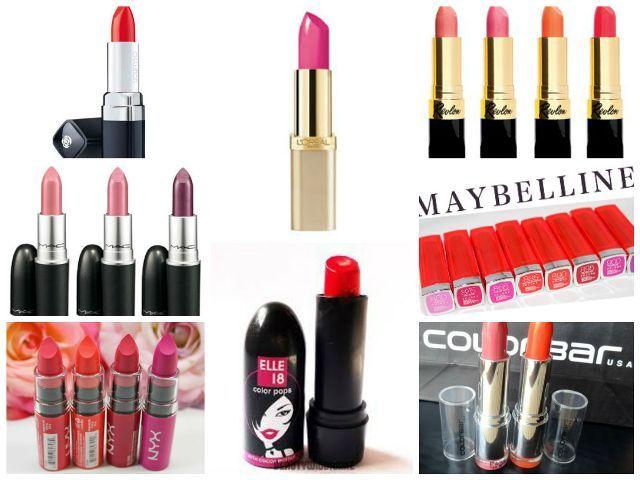 Topmost Lippenstift Marken in Indien