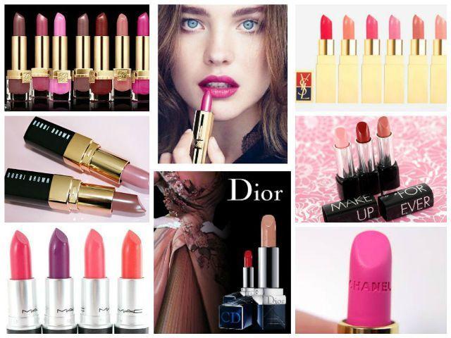 Topmost Lippenstift Marken in der Welt