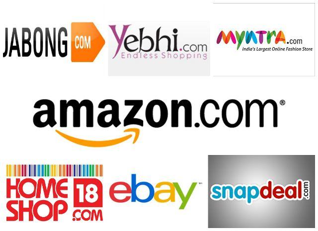 Topmost Online-Shopping-Websites in Indien