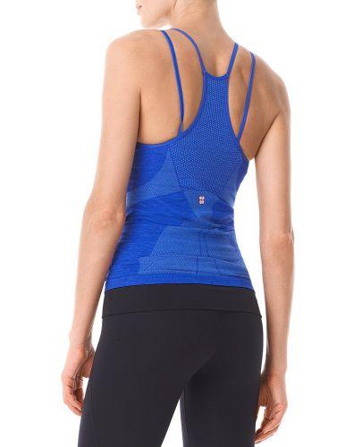 Verschwitzte Betty nahtlose Yoga Tank in blau
