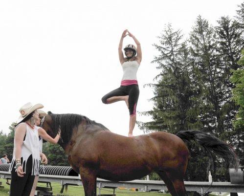 Trendbericht: das Pferd zu Yoga