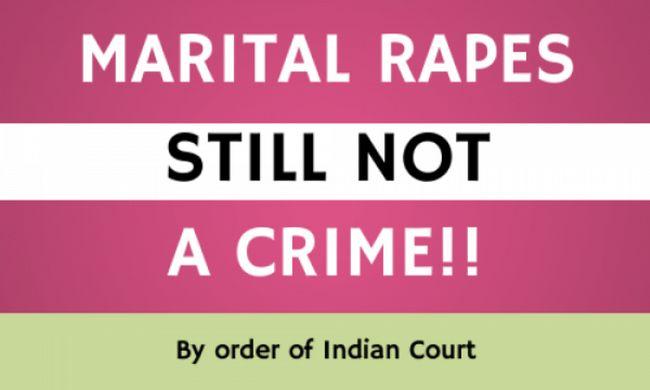 Warum Vergewaltigung in der Ehe ist ein Oxymoron für die indische Regierung?