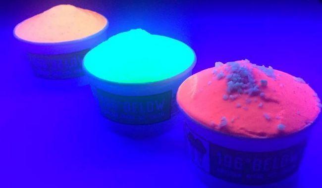 Wollen Sie etwas im Dunkeln leuchten Eis zu probieren?
