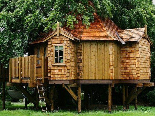 Kommentar ein Baumhaus bauen
