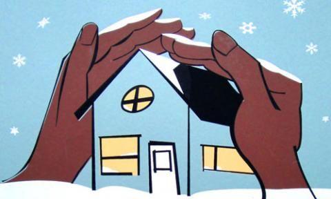 Sparen Sie Energie in Ihrem Haus für den Winter