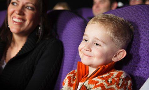 Sechs Tipps gießen Nehmen Sie die Kinder ins Kino