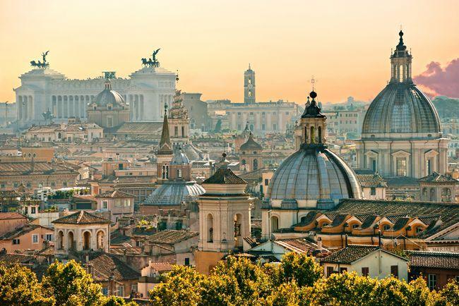 Sehenswürdigkeiten in Rom zu tun