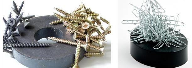 Dinge zu erinnern, nachdem Sie magnetisierte Metall lernen