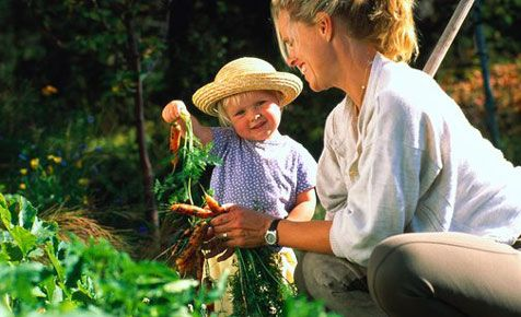 Tipps gießen Erste Kinder draußen und im Garten
