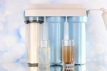 Drehen Abwasser in Trinkwasser