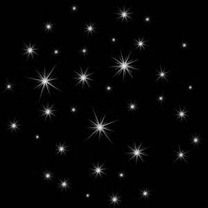 Glänzende Sterne