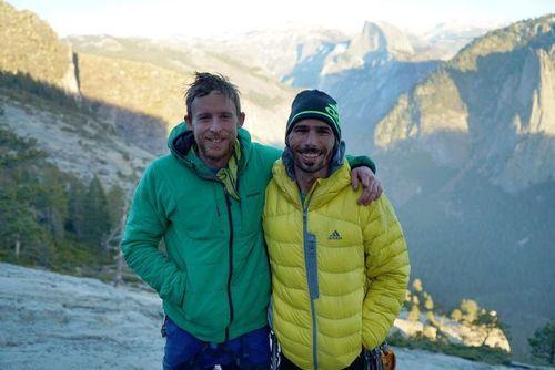 Wir hoffen, dass inspirierte Kletterer Andere Leute durch anstrengende Aufstieg El Capitan