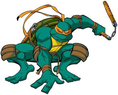 Was sind die Namen der Ninja-Schildkröten?
