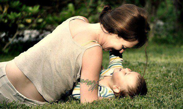 Was hat Liebe mit der Erziehung von Kindern zu tun zuversichtlich