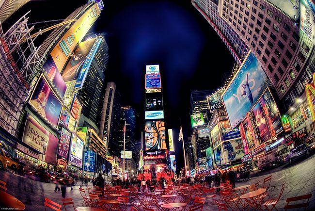 Warum Times Square Times Square genannt?